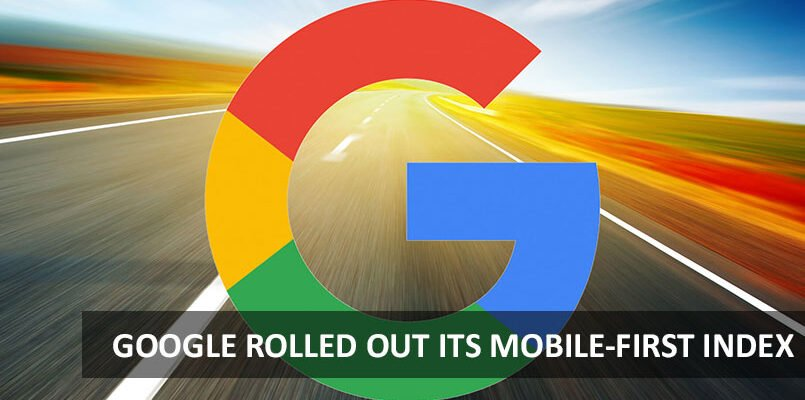 Google Rolled Out Its Mobile-first Index On Some Sites With A Very Slow Implementation 1