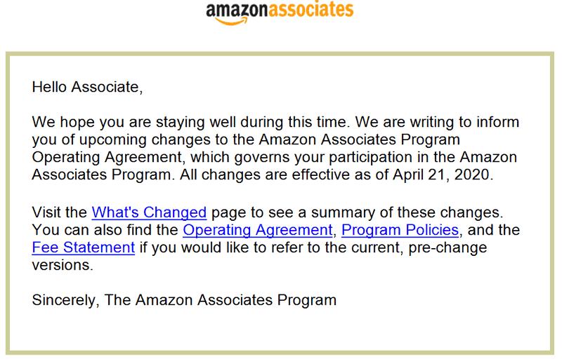 Amazon Slashed Its Affiliate Payout 1
